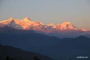 Annapurna sunset (2)
