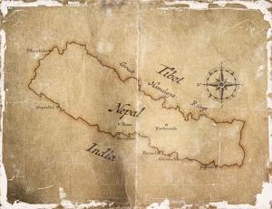 Nepal Map (2)