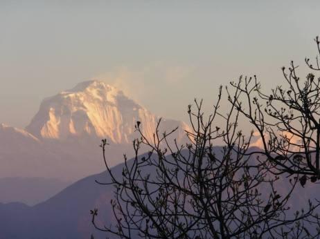 Annapurnas - Tansen view (1)