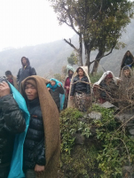 Keraunja villagers