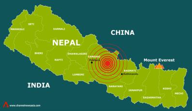 Nepal EQ Map