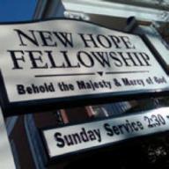 New Hope Fellowship sign